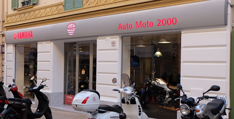auto moto 2000 concessionnaire yamaha monaco. Black Bedroom Furniture Sets. Home Design Ideas